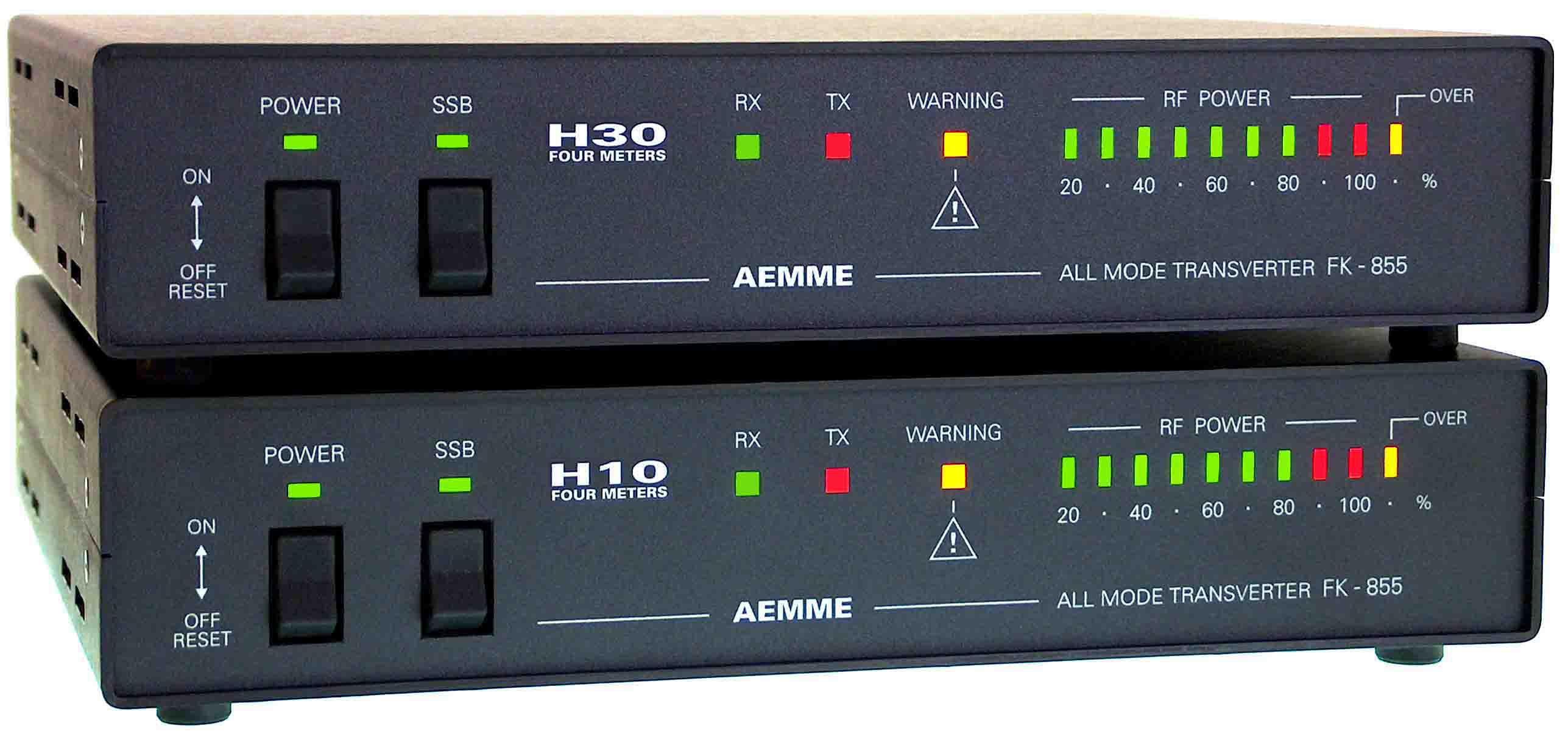 Aemme Radiotransverter Fk 855 H10 H30 Four 70mhz Rf Fm Power Amplifier And Photo Mos Fet Amp